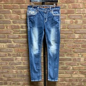 Rock Revival Olinda Easy Skinny Jeans Size 30